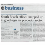 South Beach Offices Snapped Up in Good Sign