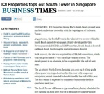 IOI Properties Tops Out South Tower